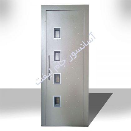 درب لولایی آسانسور 90