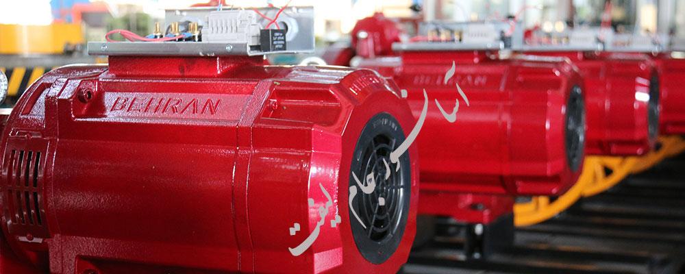 مشخصات فنی موتور اسانسور بهران